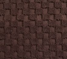 Luxurious linenHall, 850gsm 100% Cotton Reversible Bath Mat in Chocolate